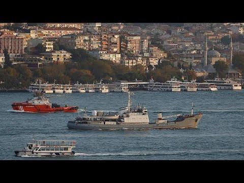 Ρωσικό πολεμικό σκάφος συγκρούστηκε με φορτηγό πλοίο στη Μαύρη Θάλασσα