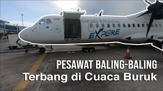 Video Terbang saat Cuaca Buruk || Garuda Indonesia ATR 72-600 Surabaya menuju Yogyakarta MP3, 3GP, MP4, WEBM, AVI, FLV Desember 2018
