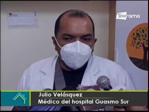 Inició la vacunación a los médicos del hospital Guasmo Sur