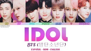Video BTS - Idol Lyrics: Español - Rom - English MP3, 3GP, MP4, WEBM, AVI, FLV November 2018