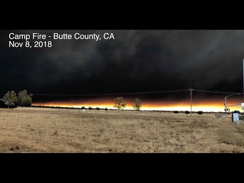 Hellish Evac from Paradise - Butte Cty, CA - Camp Fire explodes to 17,000 acres - Be Prepared