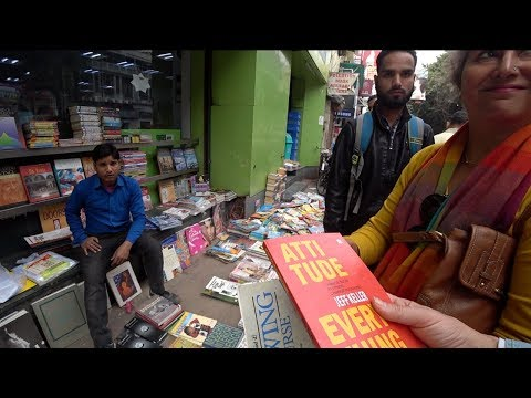 You Won't Believe What Indians Are Reading! | India's Largest Second Hand Book Market 🇮🇳