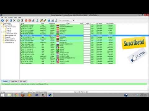 tutorial Proxy switcher pro [mediadire]