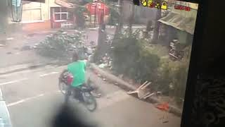 Ventarrón provoca pánico en San Cristóbal