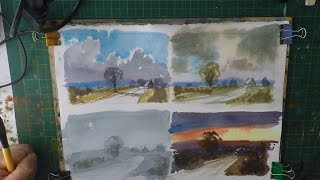 Four Sky\'s Watercolour Tutorial