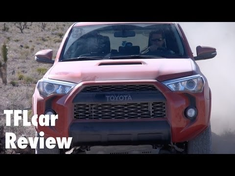 2015 Toyota 4Runner TRD Pro Off-Road First Drive: The XXL Boulder Basher