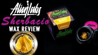Alien Labs SHERBACIO Extract Review by The Cannabis Connoisseur Connection 420