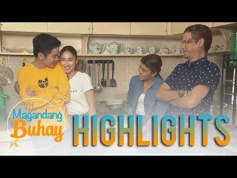 Magandang Buhay: Joshua brings Julia at their house in Batangas (видео)