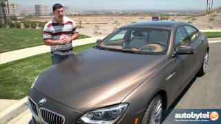 2013 BMW 640i Gran Coupe Test Drive&Luxury Car Video Review