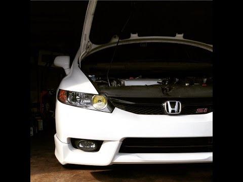 DIY : How to install Nokya DRL Bulbs on Honda Civic Si 8th Gen (06-11)
