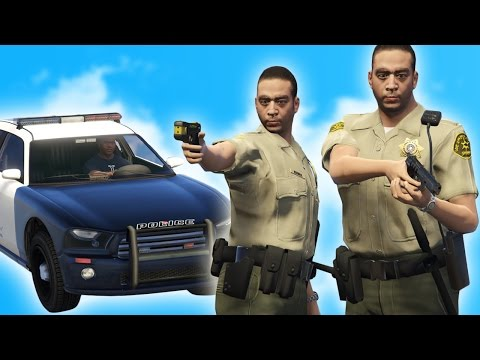 GTA 5 RP - LET'S BE COPS! (GTA 5 Roleplay Funny Moments)