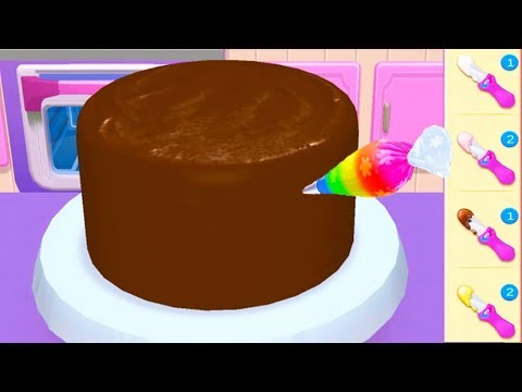 Play Fun Cake Cooking Games - My Bakery Empire - Bake Decorate & Serve Cakes Games For Girls To Play