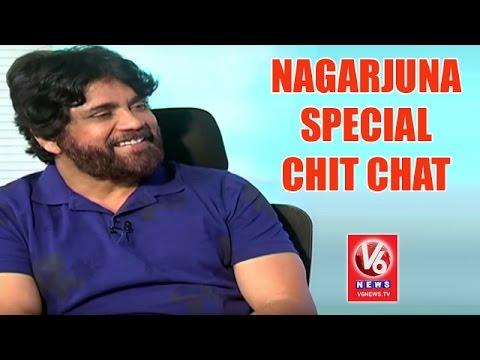 Akkineni Nagarjuna In Special Chit Chat | Nirmala Convent | V6 News