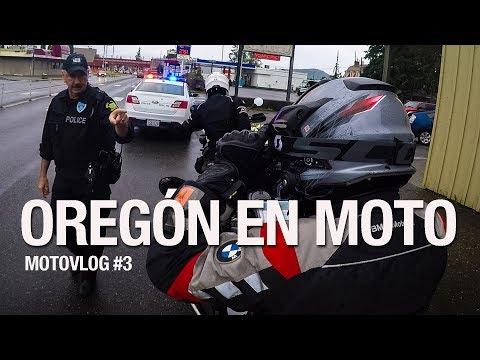 Viajar en moto hasta Alaska: Oregón y Washington. Motovlog de viajes en español #3