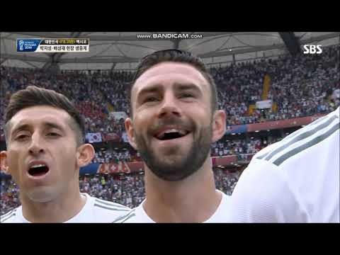 Anthem Of Mexico Vs Korea FIFA World Cup 2018