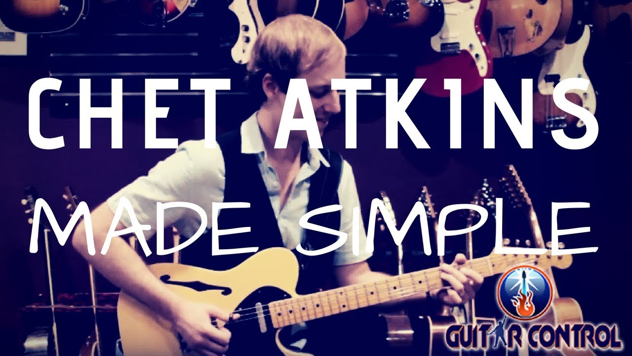 How to Play Chet Atkins Style For Beginners – Guitar Lesson on Alternate Bass