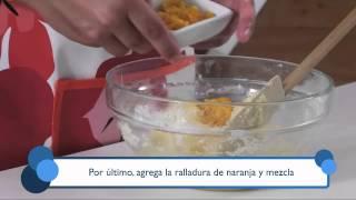 Cómo preparar galletas de naranja. Part of the series: Todo Dulce. Aprende la forma más simple y rápida de preparar galletas de naranja en este video gratuito. Read more: http://www.ehowenespanol.com/preparar-galletas-naranja-video_462656/