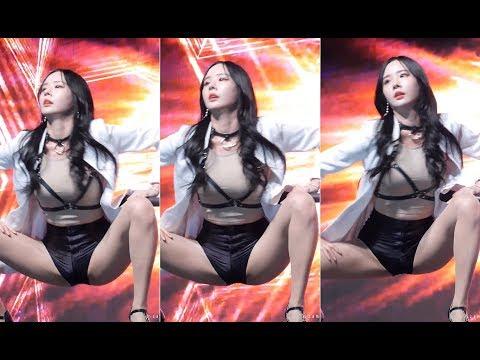 韩国美女为什么每次热舞都要脚开开的,看到都受不了!准备纸巾