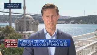 European banks hit by Turkey contagion | Squawk Box Europe