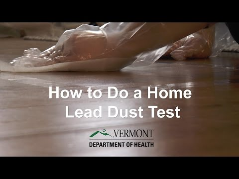 Keep Your Home Healthy: Test for Lead Dust