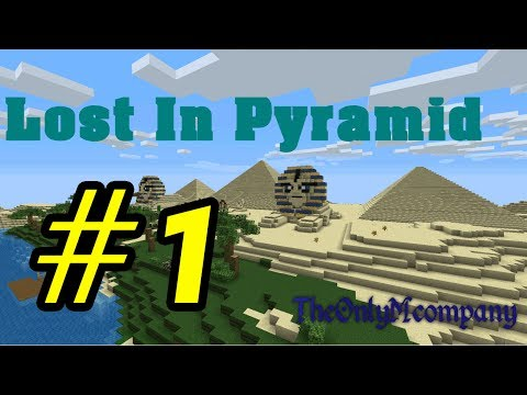 Tackle⁴⁸²⁶ Minecraft Custom map - Lost in pyramid #1