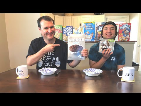 Hershey Kisses Cereal Review