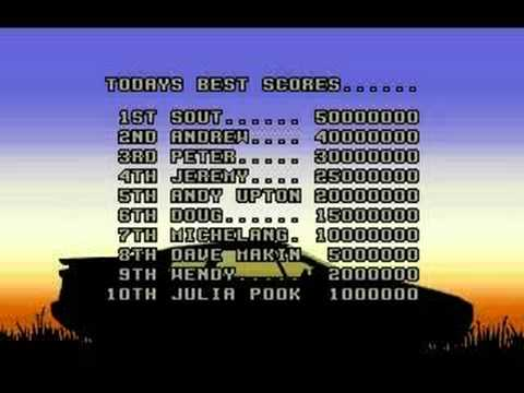 Video: 1990 / Lotus Esprit Turbo Challenge / Amiga, Atari ST, C64,
