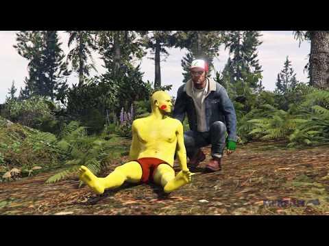 當GTA5主角Cosplay神奇寶貝,這一切畫面完全崩壞了。