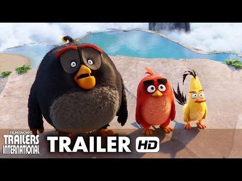 Filmes de animação completos dublados 2017 lançamento - Angry Birds - O Filme Trailer Oficial #2 dublado - Animação [HD]