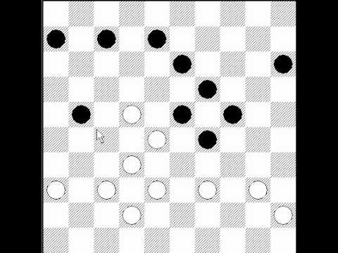 how to win checkers 2 vs 2