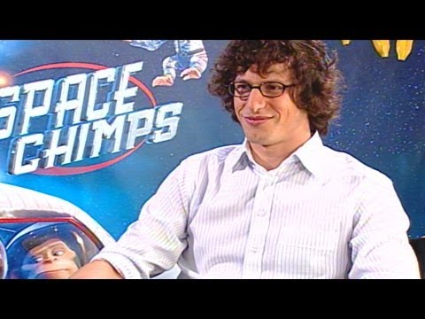 'Space Chimps' Andy Samberg Interview