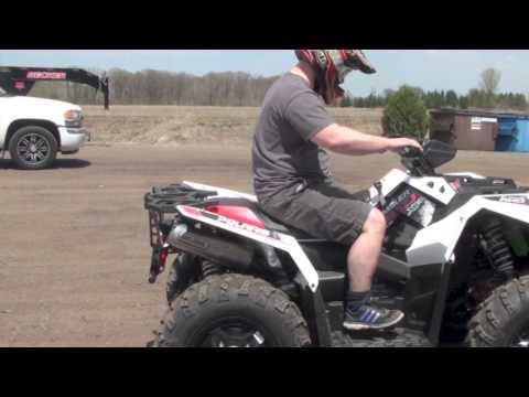 Speedwerx NEW 2013 850 Scrambler Slip-On Exhaust