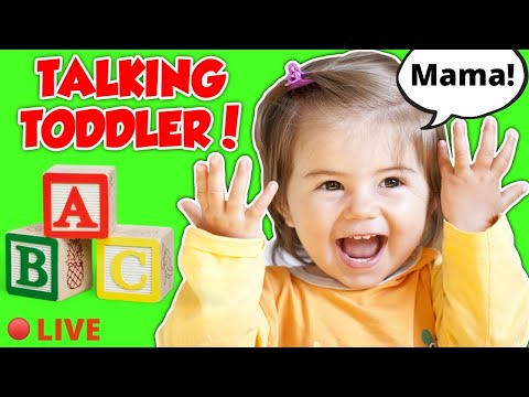 Toddler Learning Video Songs, Words, Animals - Videos for Toddlers - Baby Videos for Babies - Speech