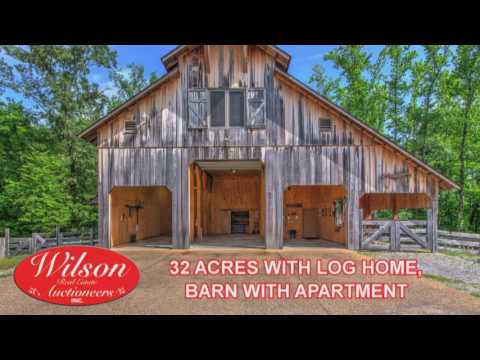 LUXURY LOG HOME ABSOLUTE REAL ESTATE, GUN, EQUIPMENT & FURNISHINGS AUCTION ~ HOT SPRINGS, AR
