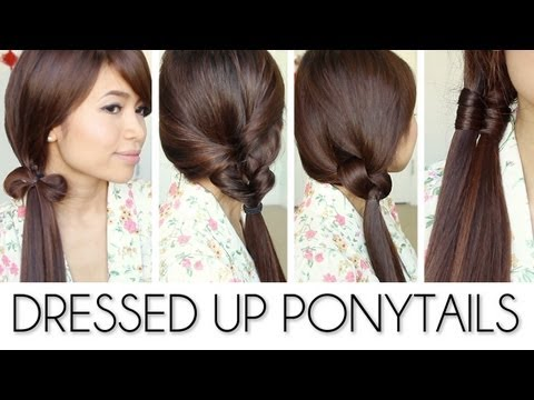 Back-to-School Ponytail Hairstyles for Medium Long Hair Tutorial – Bebexo