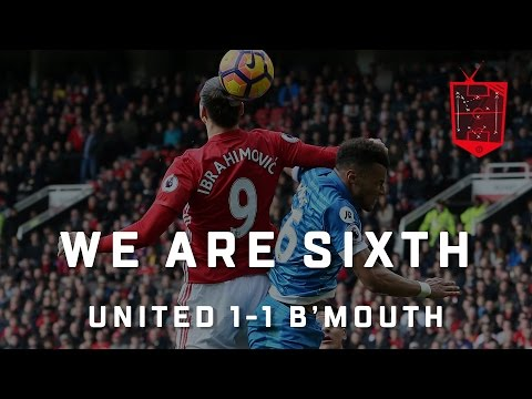 WE ARE SIXTH!   Zlatan's Getting Banned!   Manchester United 1-1 Bournemouth   REVIEW (видео)