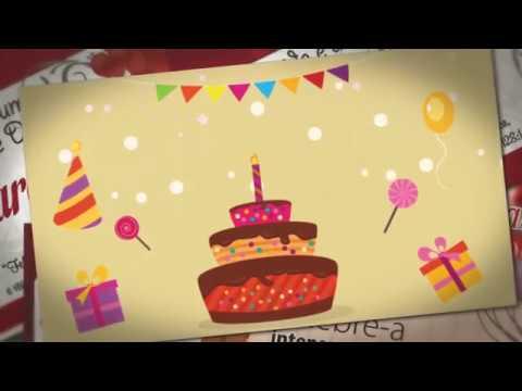Msg de aniversário - Mensagem De Aniversário - Meus Votos De Um Feliz Aniversário.