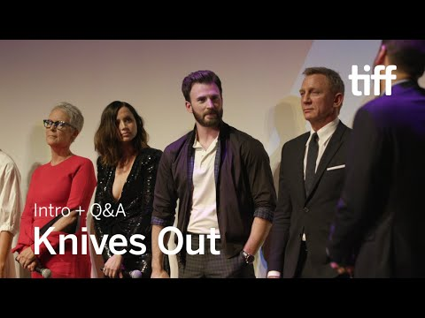 [SPOILERS] KNIVES OUT Cast and Crew Q&A | TIFF 2019