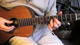 Robert Johnson lesson - Part 3/3 - Kindhearted Woman Blues - TAB available