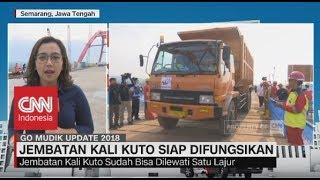 Video Jembatan Kali Kuto Siap Difungsikan, Bisa Dilewati Satu Jalur - Go Mudik 2018 MP3, 3GP, MP4, WEBM, AVI, FLV Juni 2018