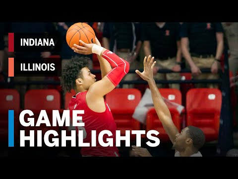 Highlights: Hoosiers Remain Hot in Win | Indiana vs. Illinois | B1G Basketball