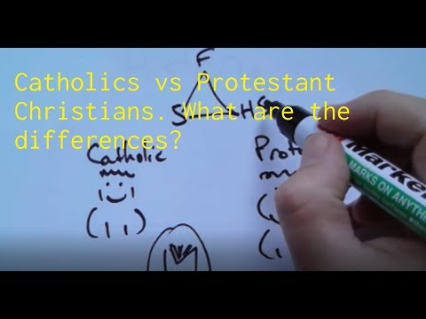 The Difference between Catholics and Protestant Christians