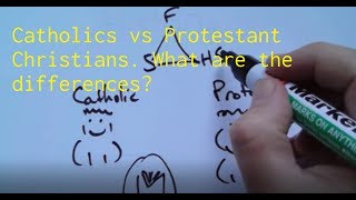 Video The Difference between Catholics and Protestant Christians MP3, 3GP, MP4, WEBM, AVI, FLV Juli 2019