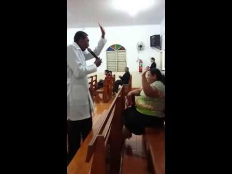 Evangelista Luiz Mendes em Rio Brilhante Agradecimento