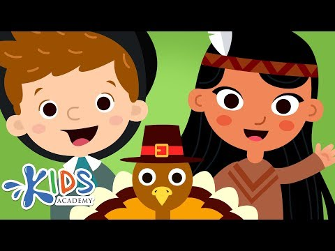 Thanksgiving Story for Kids - The First Thanksgiving Cartoon for Children | Kids Academy