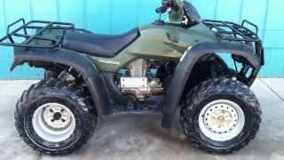 7. 2006 Honda Rancher 350 4x4 es