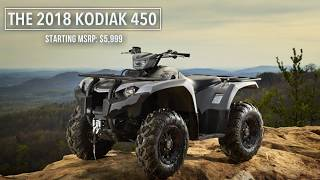 7. 2018 Yamaha Kodiak 450 EPS first look