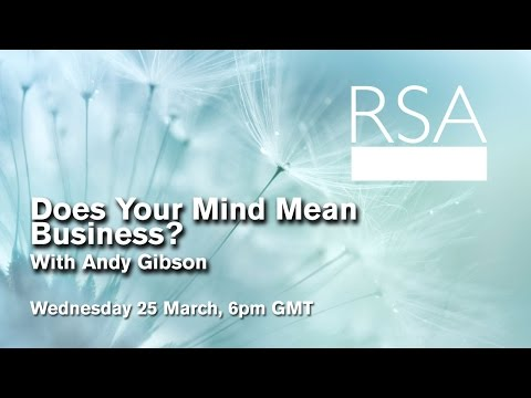 LIVE EVENT: Does Your Mind Mean Business?