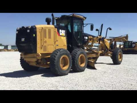 CATERPILLAR RÓWNIARKI SAMOBIEŻNE 140M2AWDT equipment video Vw0nsuCmbzw