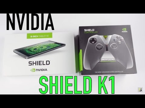 Unboxing Nvidia Shield K1 Tablet | la mejor tableta para gamers